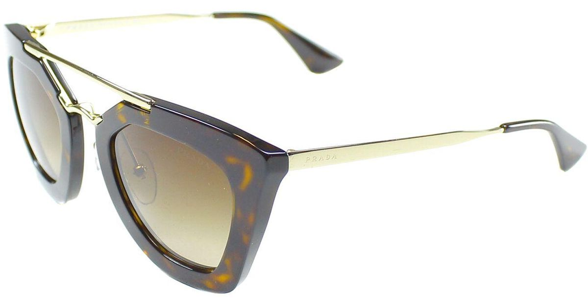 6574ef715b86 Prada Black Cat Eye Sunglasses Pr 09qs - Image Of Glasses
