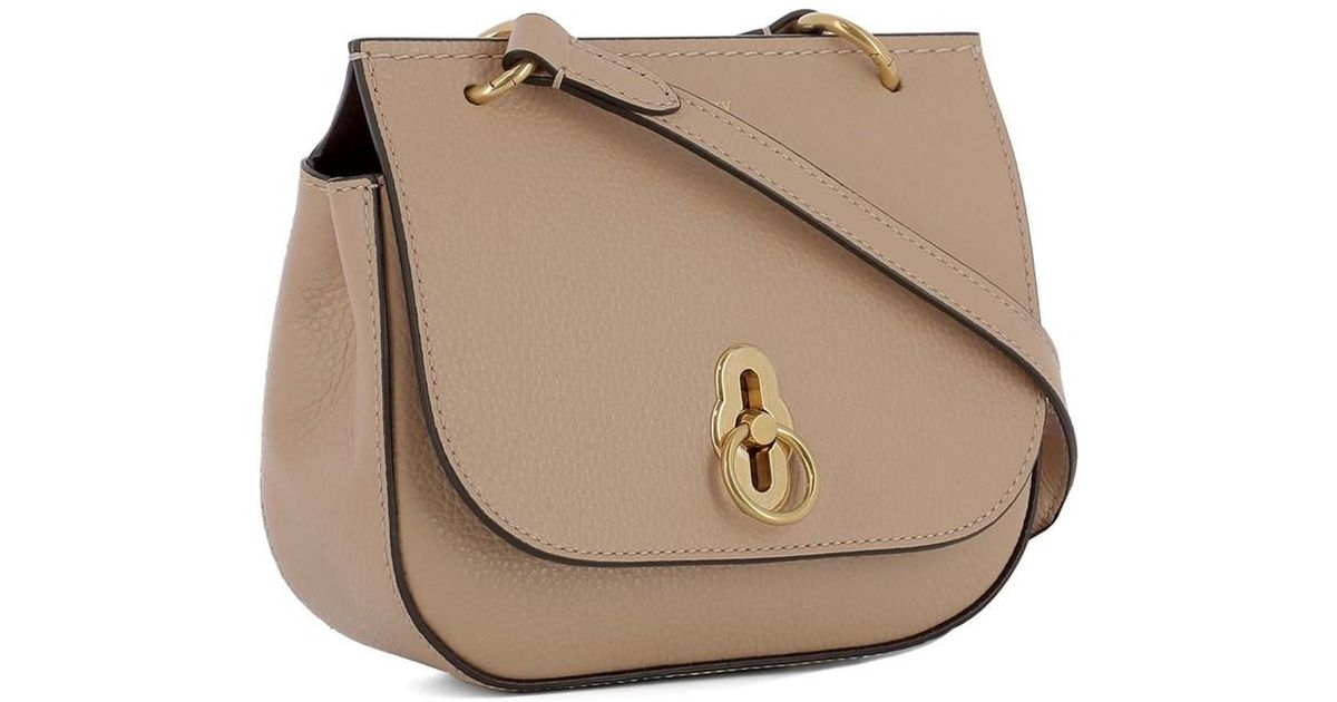 Lyst - Mulberry Women s Pink Leather Shoulder Bag in Pink b42d3e3a1d00a