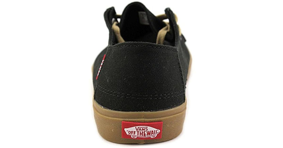 ba9c63f3c5a1 Lyst - Vans Rata Vulc Sf Shoe Men s Black light Gum in Black for Men