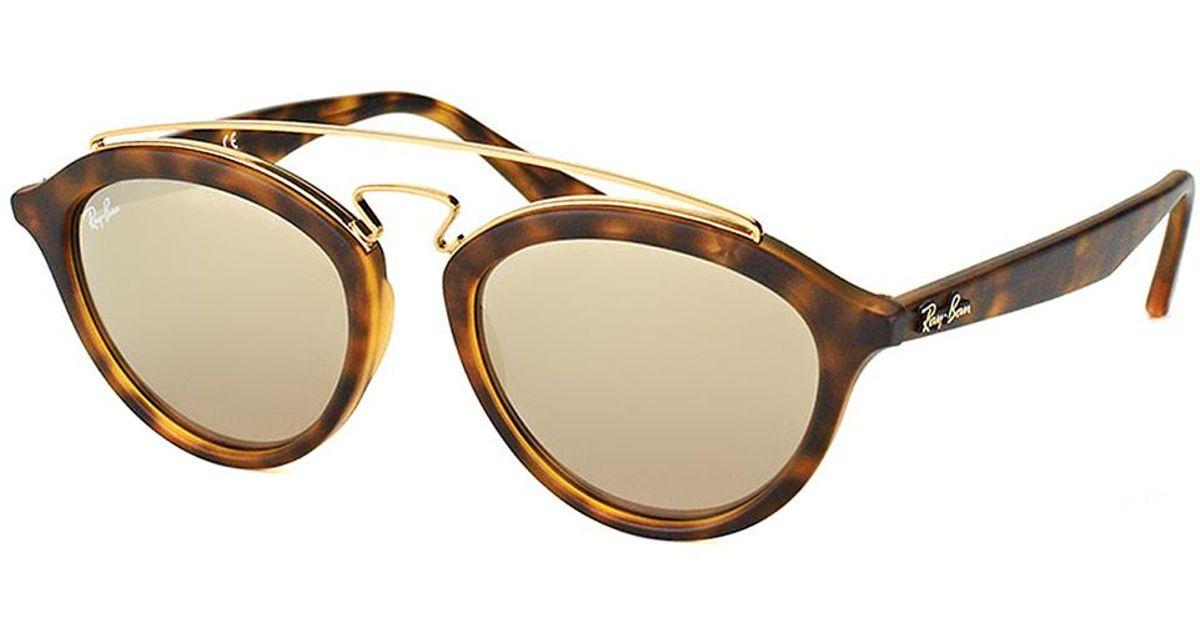 af9beeeb3df Lyst - Ray-Ban Gatsby Ii Fashion Plastic Sunglasses in Brown
