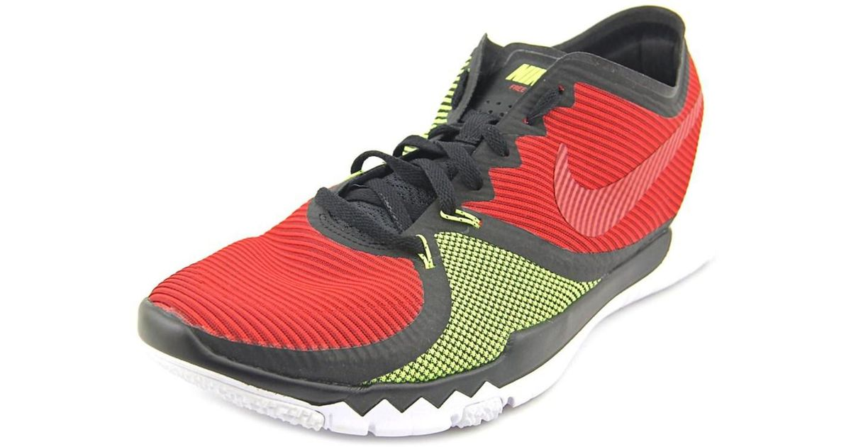 5d62277c6bf1 ... official lyst nike free trainer 3.0 v4 in red for men 21539 51bc5 ...