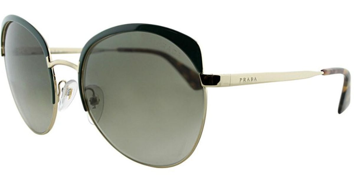 e75039deba0e4 Lyst - Prada Women s Pr54ss Sunglasses in Metallic