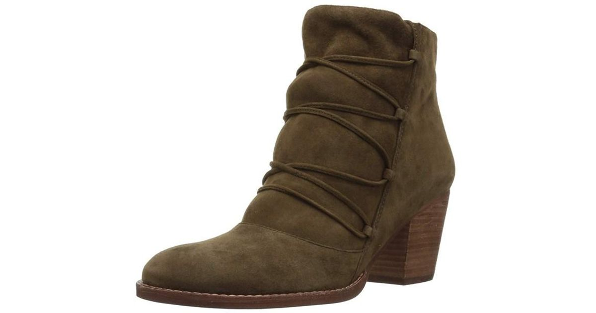 8fb22b0e449af Lyst - Sam Edelman Women s Millard Ankle Boot in Green