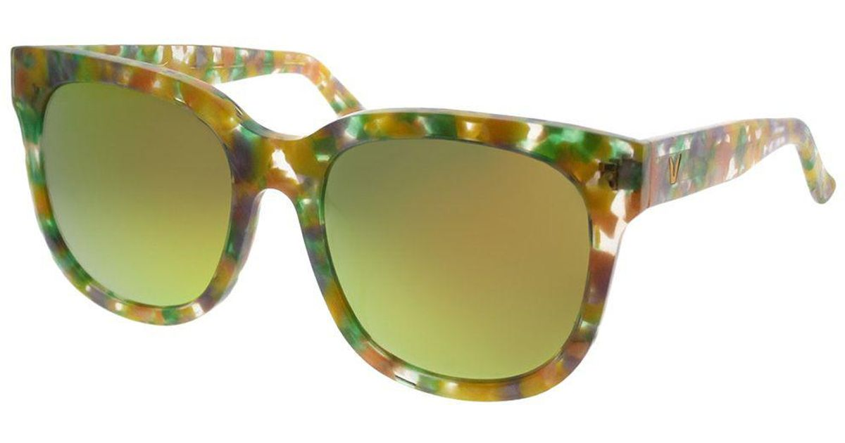 8eefb3c7664e Lyst - Gentle Monster Gms Didi.d Fd1 M Yellow Marble Square Sunglasses in  Yellow