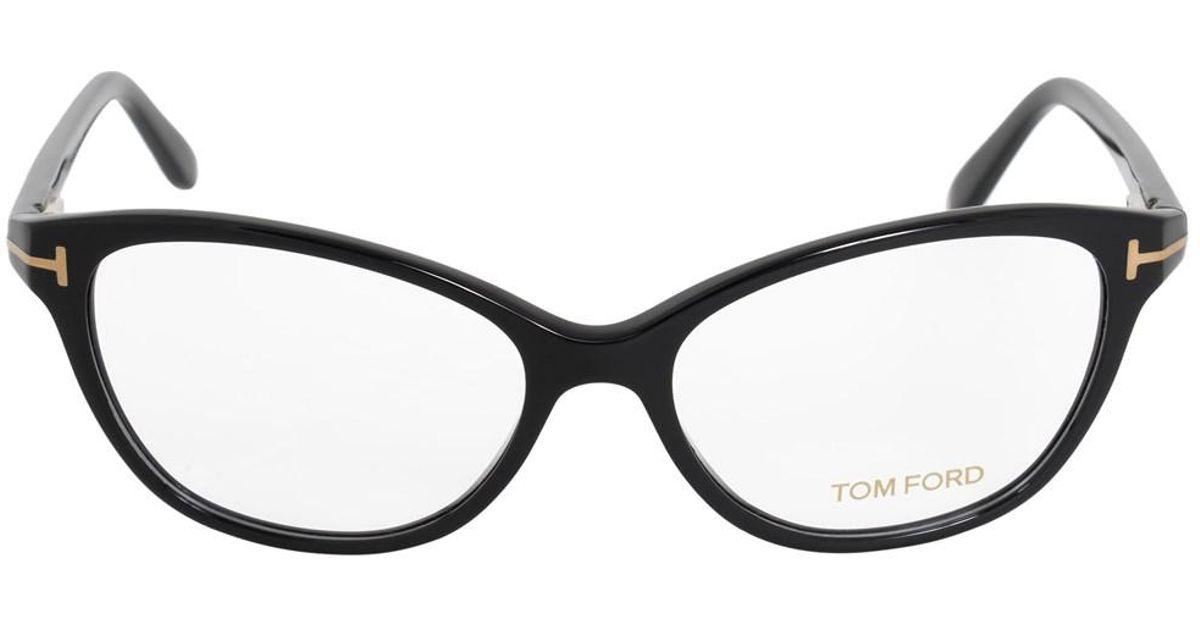 Lyst - Tom Ford Ft5299 001 54 Oval | Black | Eyeglass Frame in Black