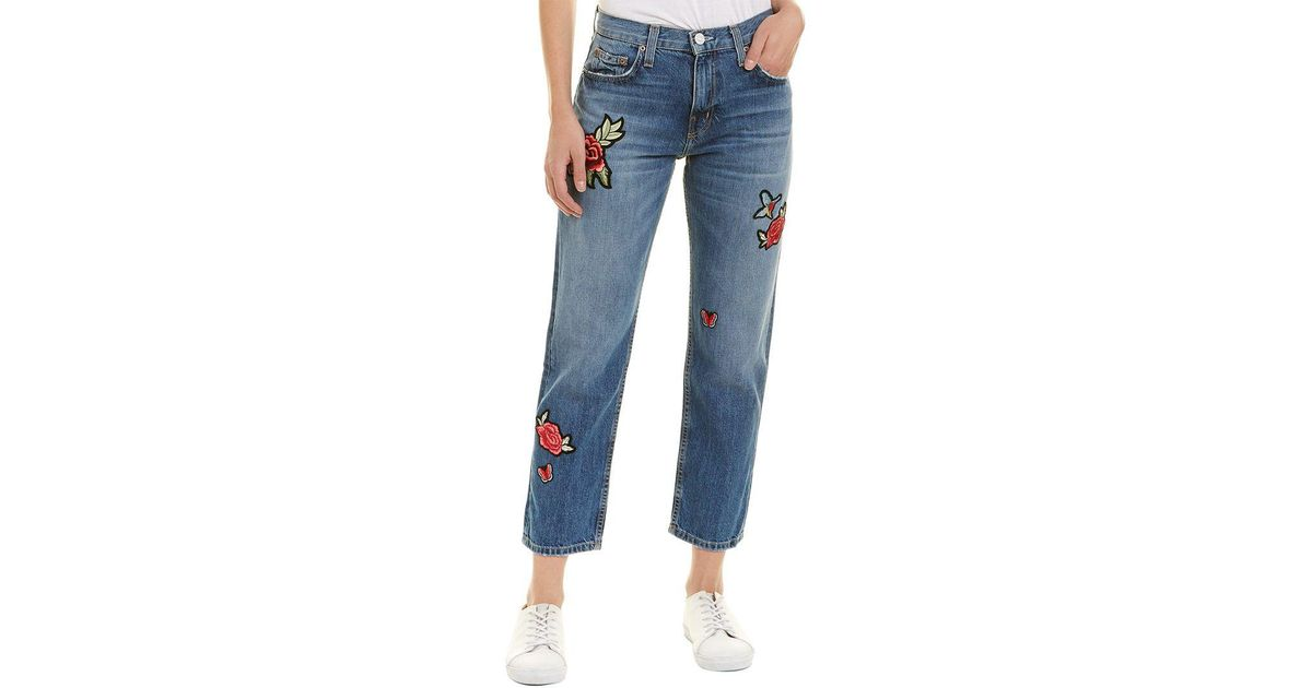 a56043596a53d8 Lyst - Joie Jeans Josie Hotel California Straight Crop in Blue