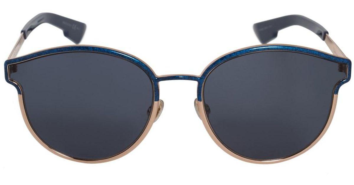 a71a6f9aea Lyst - Dior Symmetric Numa9 Sunglasses in Blue