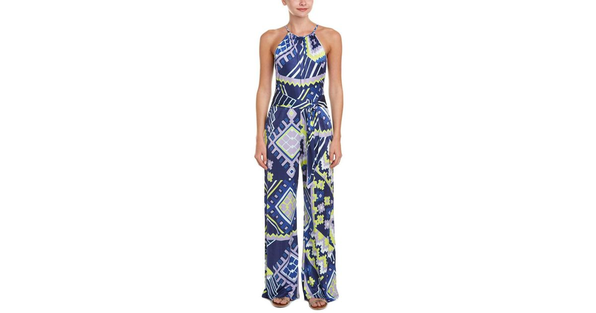 1af22840f391 Lyst - Alice   Trixie Jumpsuit in Blue