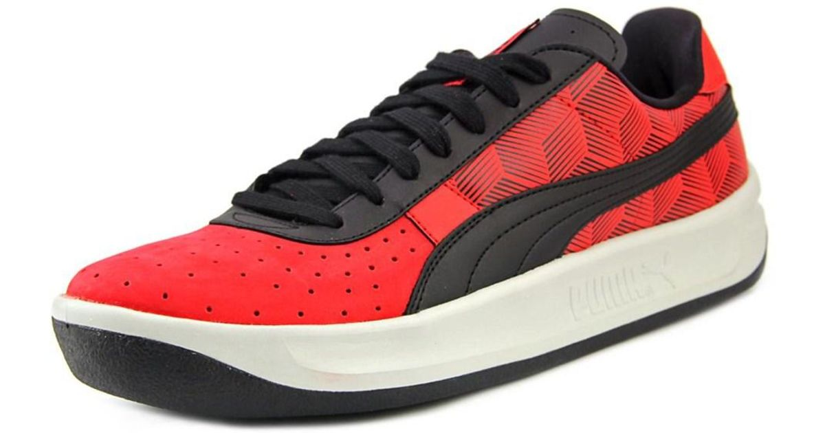 Lyst - Puma Kabo Runner Men Round Toe Leather Red Walking Shoe in Red for  Men ebba300193