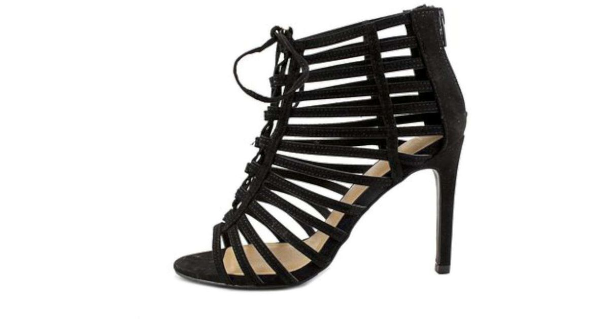 2974cd8dcaa Lyst - Material Girl Womens Raquel Open Toe Special Occasion Strappy Sandals  in Black