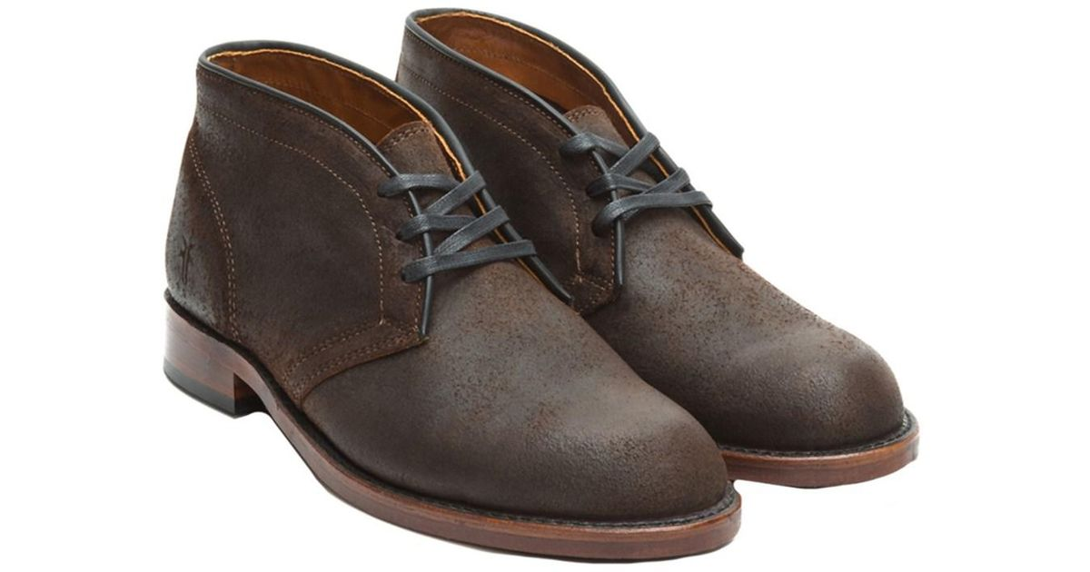 big sale cheap online outlet Inexpensive Frye Men's John Leather Chukka 2014 unisex online newest for sale BzvFS5Kp21