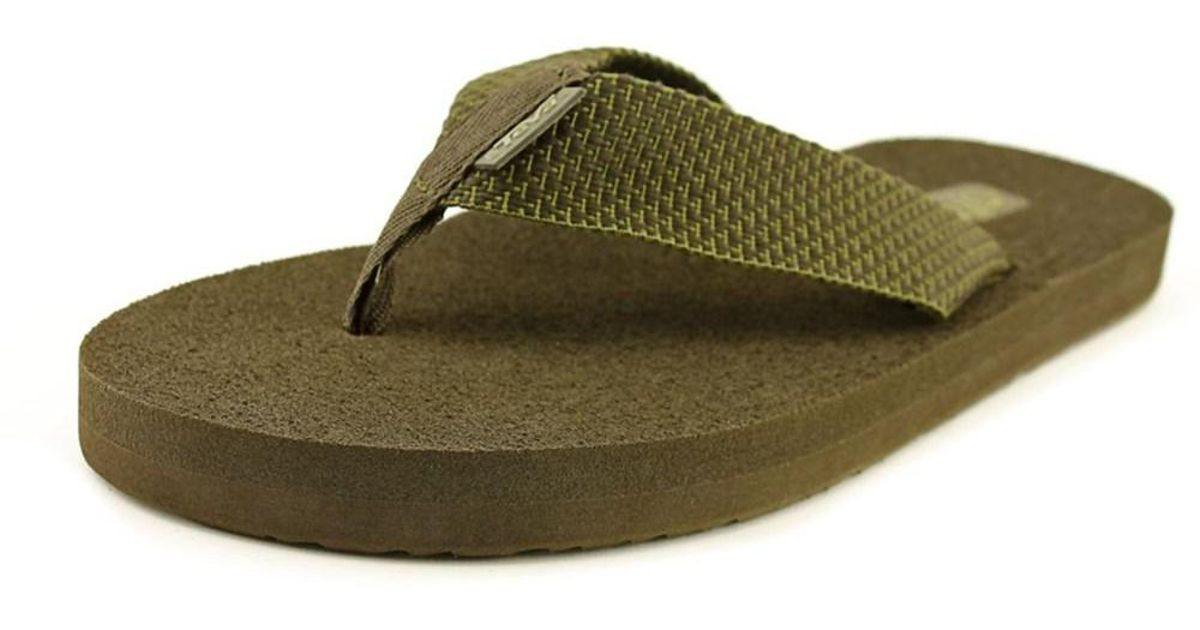 78a6ab0d13fa Lyst - Teva Mush Ii Men Open Toe Synthetic Flip Flop Sandal in Green for Men