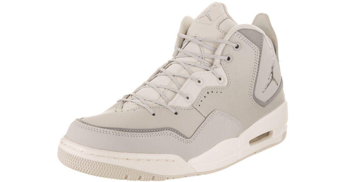 Lyst - Nike Nike Men s Courtside 23 Basketball Shoe in Gray for Men 05cf0f4d1