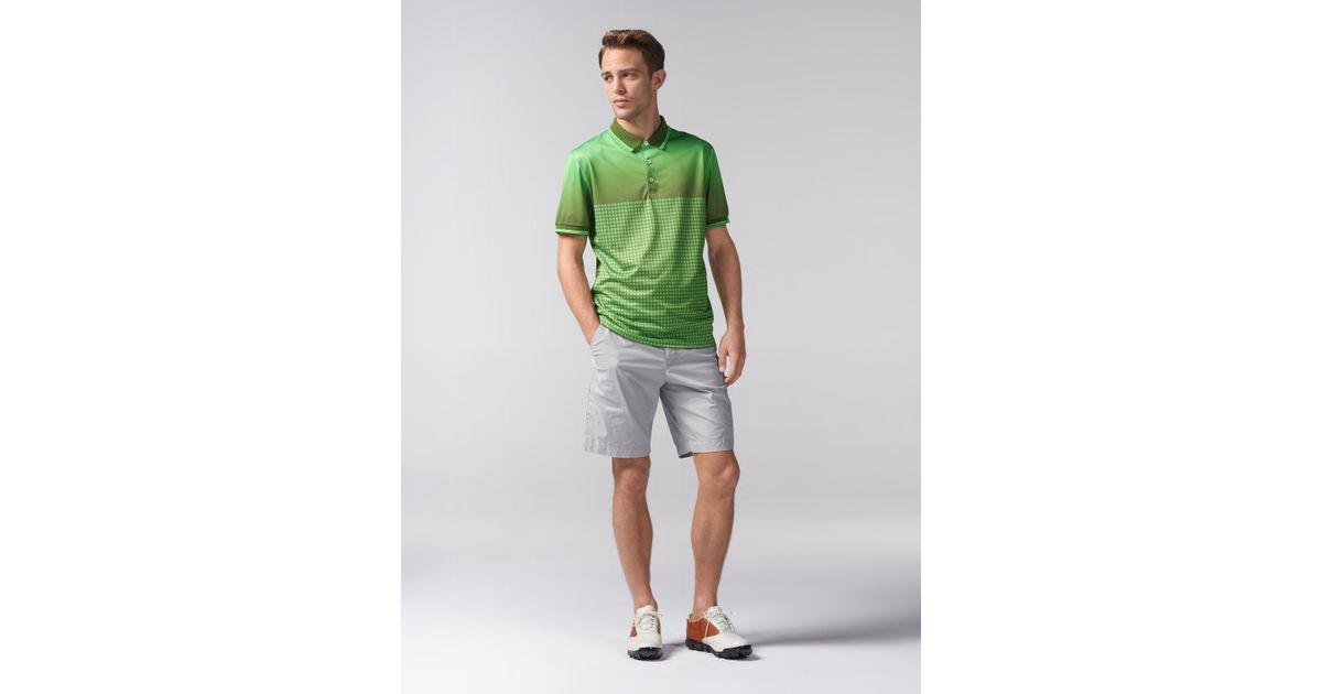 3a1ee33d Bogner Functional Golf Polo Chris in Green for Men - Lyst