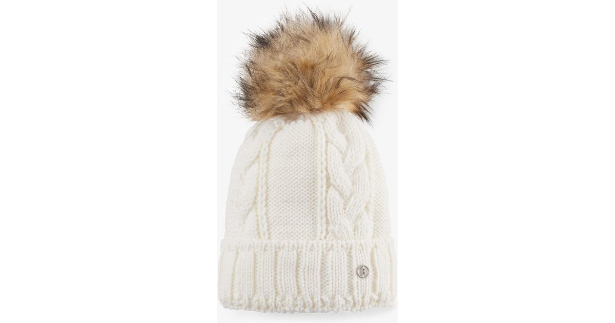 baf9cd1343589 Lyst - Bogner Lela Knitted Hat in White