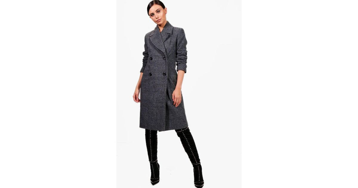 cf7e76521cad boohoo-designer-black-Petite-Amy-Collared-Double-Breasted-Check-Coat.jpeg
