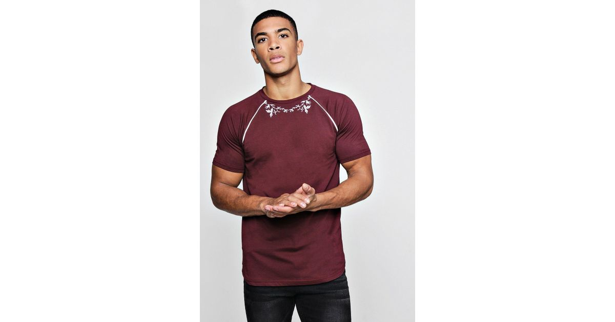 b2271818 Lyst - BoohooMAN Short Sleeve Western Embroidery T-shirt for Men