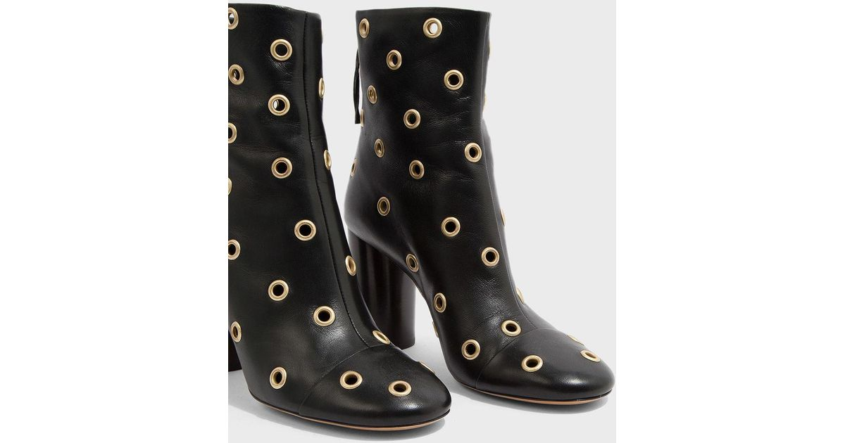 order sale online looking for Isabel Marant Leather Garett Boots w/ Tags clearance buy 2015 cheap online EuA3qi7n