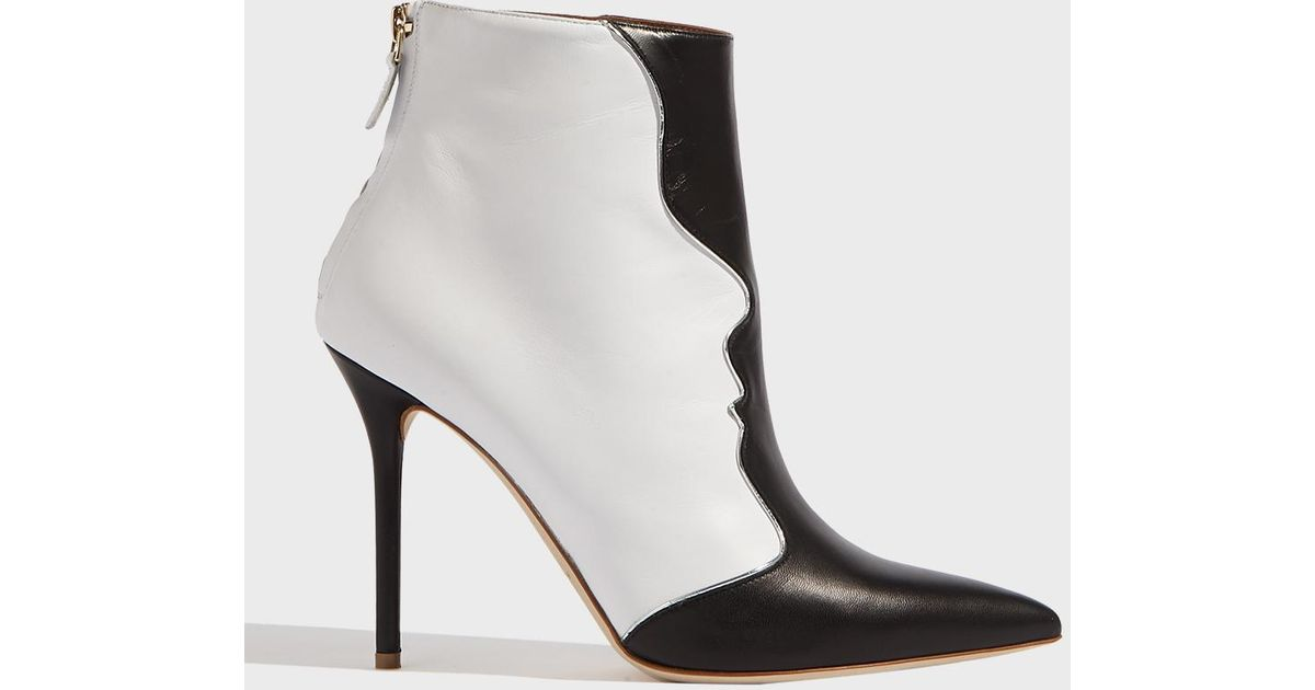 MALONE SOULIERS Camille Leather Ankle Boots fUApsYpD