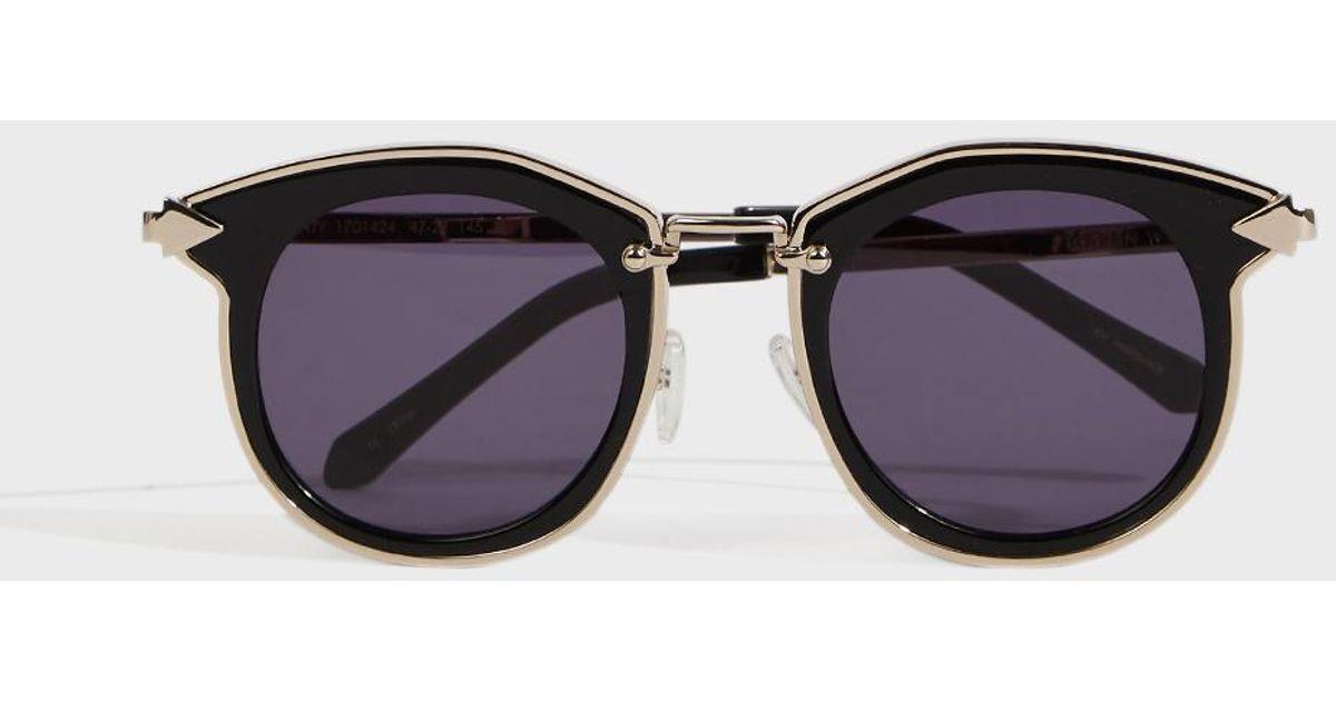 323b346b41f Karen Walker Bounty Round Lens Sunglasses