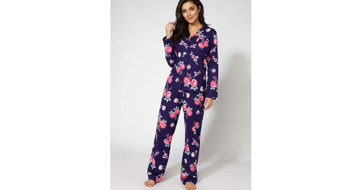 682fd9305a Boux Avenue - Blue Floral Pyjamas In A Bag - Lyst