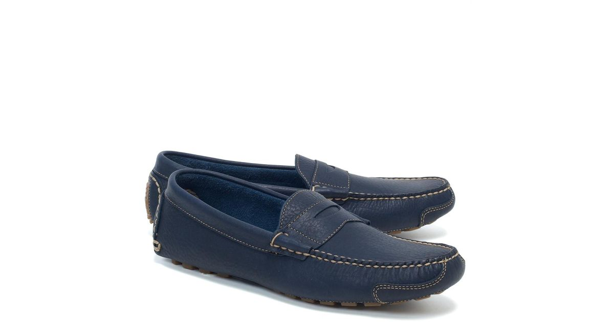 09f01ecefc5 Lyst - Brooks Brothers American Bison Drivers in Blue for Men