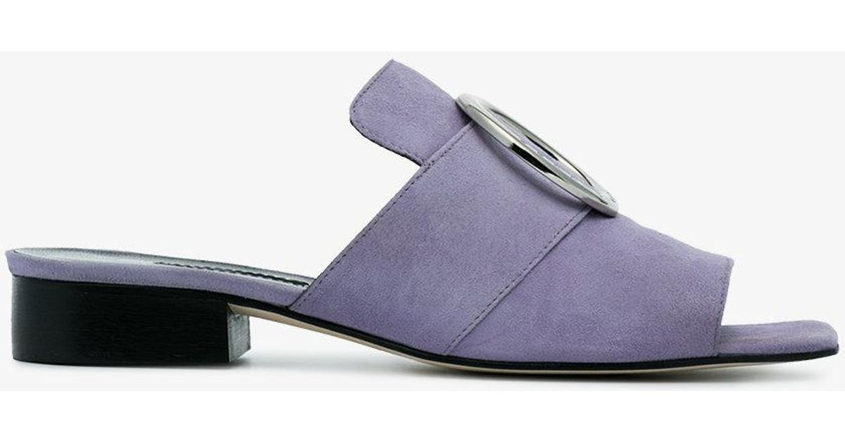 DORATEYMUR 25MM HARPUT LEATHER SLIDE SANDALS Buy Cheap Deals Many Colors Free Shipping 100% Guaranteed Clearance Best Store To Get 7OYuilv