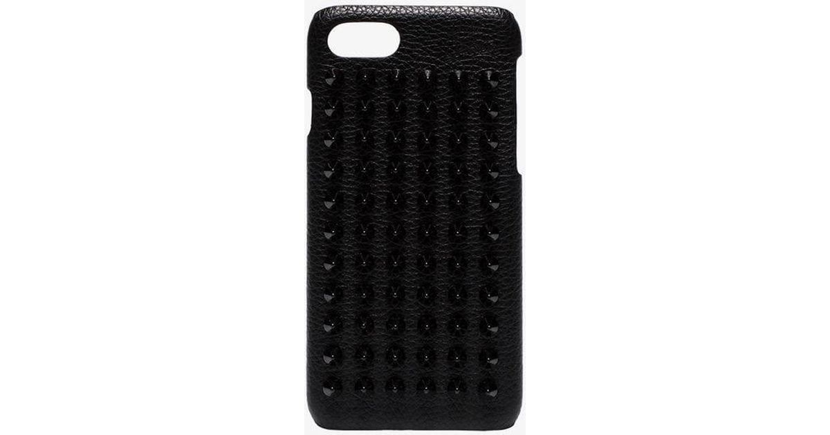 bed3089ab7f Christian Louboutin - Black Iphone 8 Phone Case - Lyst