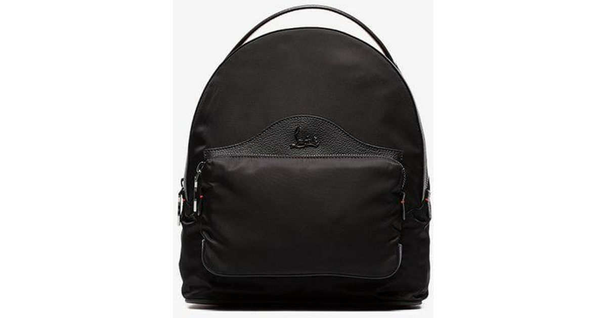 6e7cb2ac6a3 Christian Louboutin - Black Backloubi Backpack - Lyst