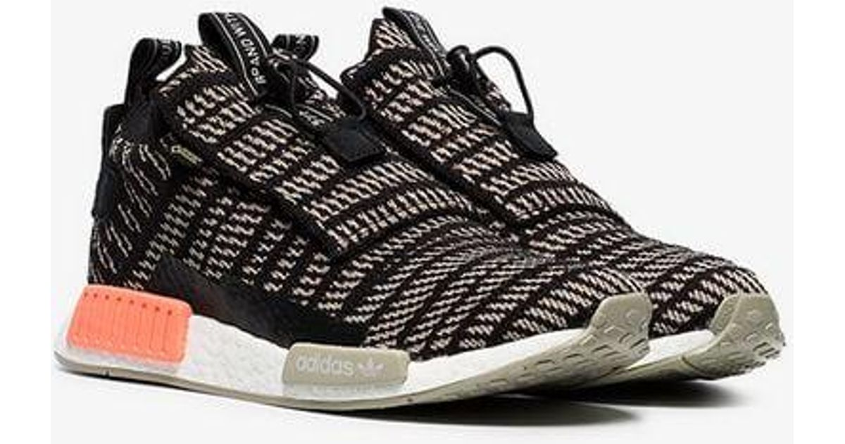 75af3641f63 Lyst - adidas Black And Beige Nmd Ts1 Primeknit Gtx Sneakers in Black for  Men