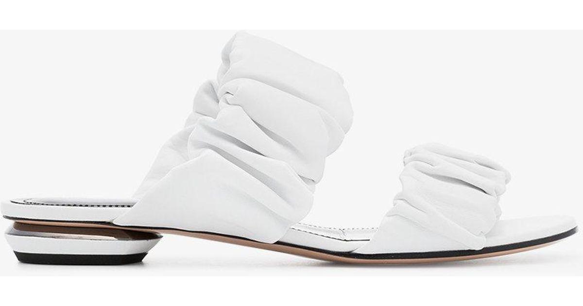 Nicholas Kirkwood Courtney Leather Sandals oVWpEh