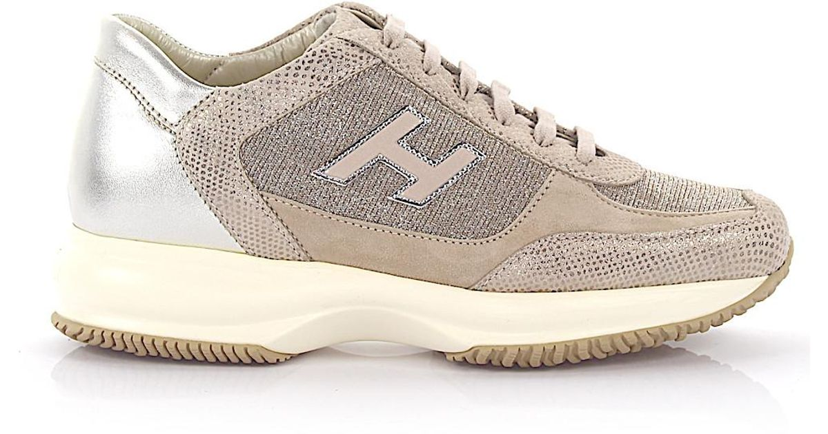 573bc68eba3311 Lyst - Hogan Lace Up Shoes in Natural