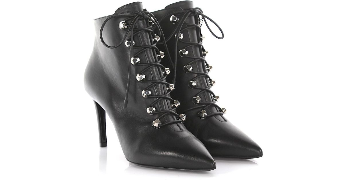 Balenciaga Ankle boots nappa leather rivet hUnsRN
