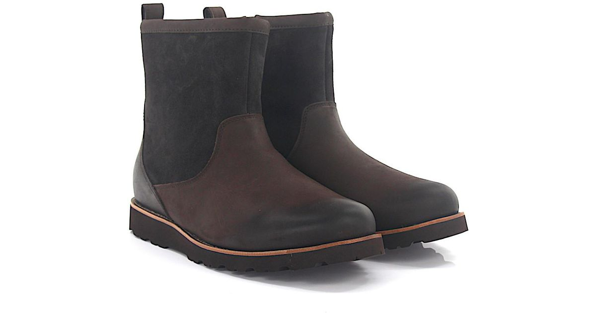 UGGBoots HENDREN nubuck leather suede finished lambskin A8xTzq9f3