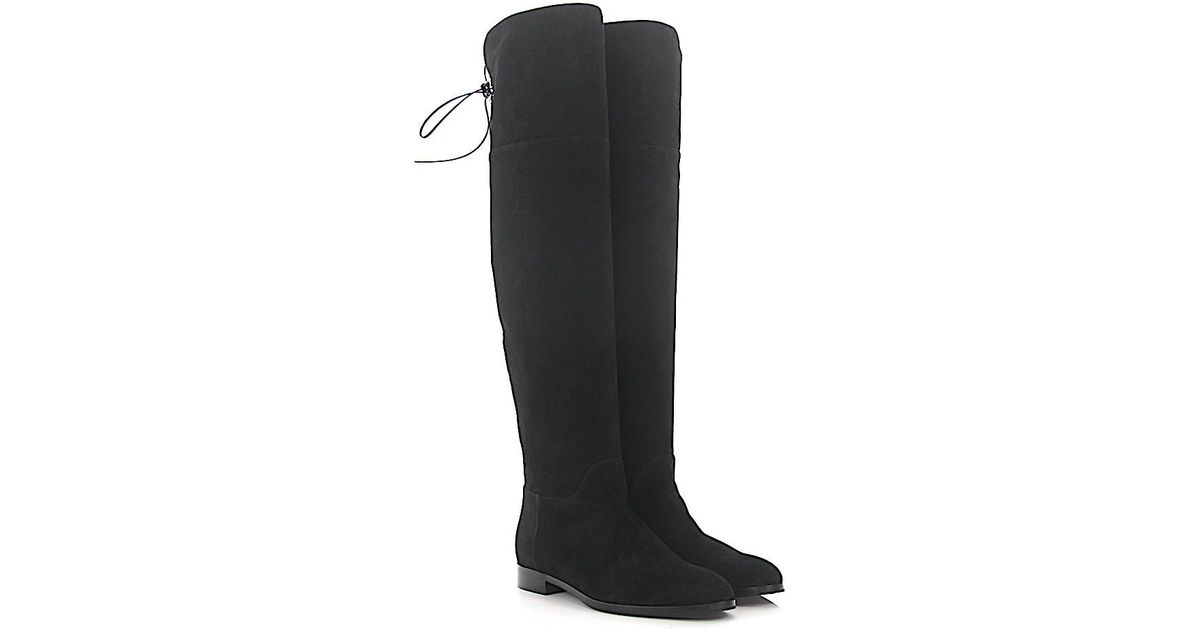 Sergio Rossi Knee Boots A78340 nappa leather Z93ZW6
