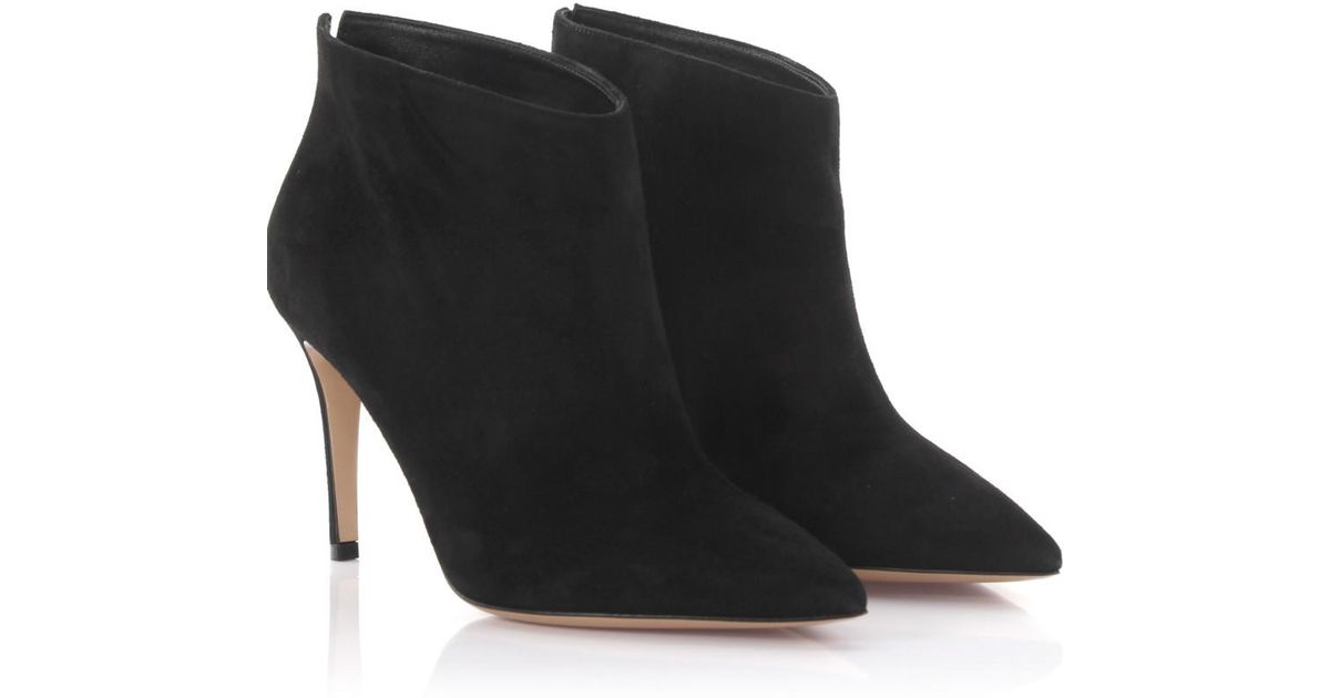Gianvito Rossi Ankle Boots IDOL Stretch perforation nappa leather YDXiDwNu