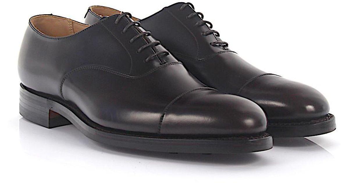 Oxford Dorset leather black Crockett & Jones jEeakyd2OD