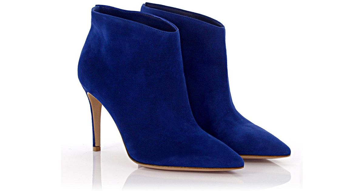 Gianvito Rossi Ankle boots G05865 Mid Cut suede zRD1y7