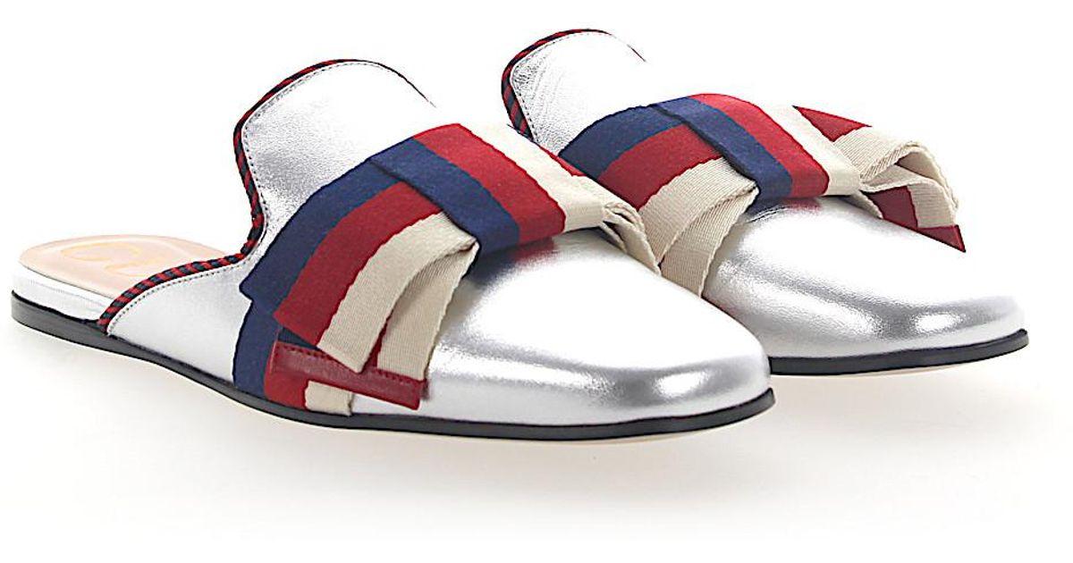wq0BSnTQdx Slip On Shoes 0B7B0 nappa leather Ribbon btIgp