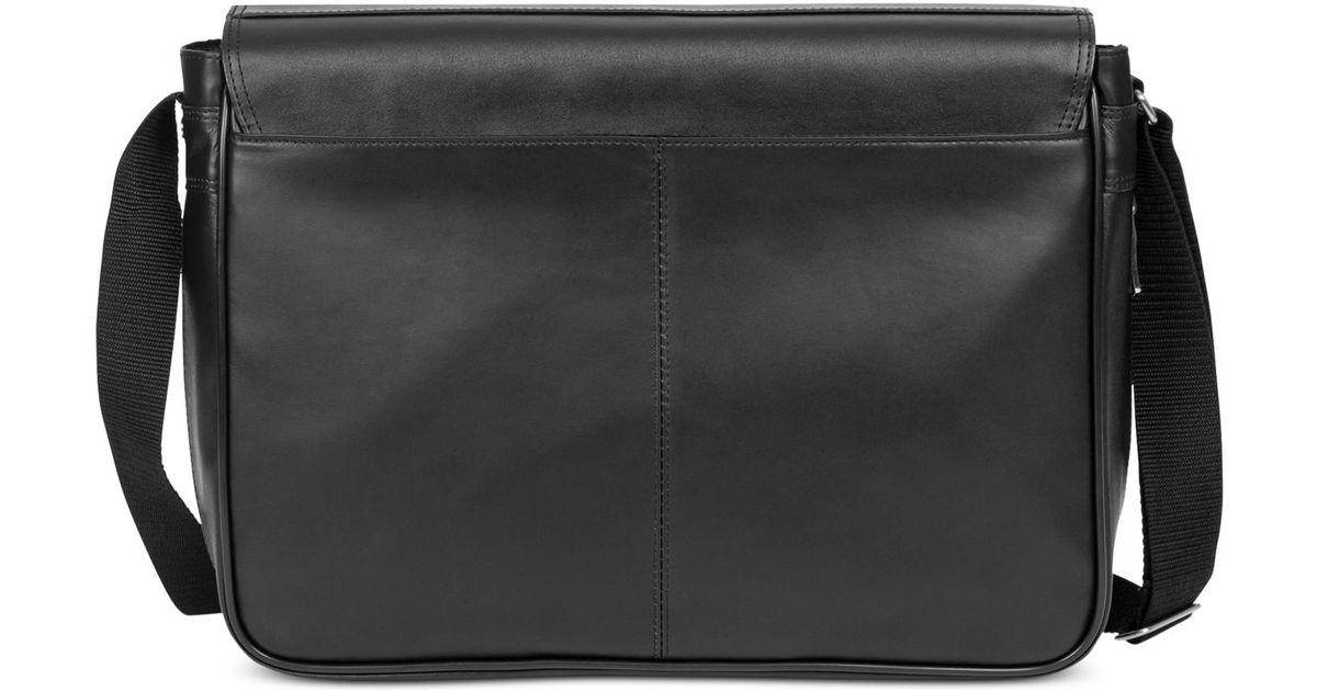37bfc71e139e Lyst - Kenneth Cole Reaction Manhattan Leather What A Bag Expandable  Flapover 15