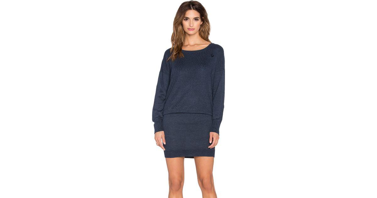 ed3fa695e56 G-Star RAW Becka Sweater Dress in Blue - Lyst