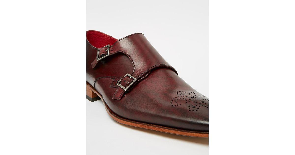 Jeffery West Glitter Monk Shoes KiyqkC06