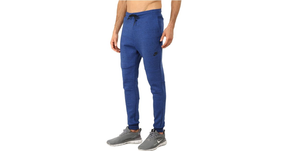 85e25996529d ... Lyst - Nike Tech Fleece Pants in Blue for Men ...