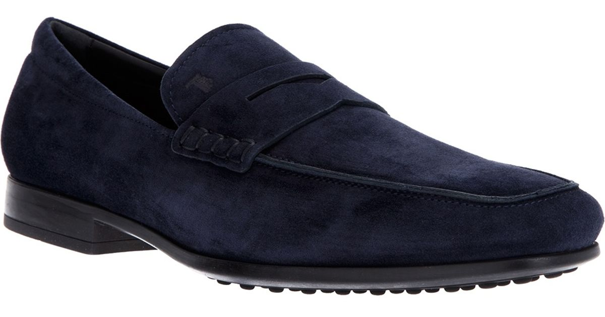 penny loafers - Blue Tod's oFXUfNal