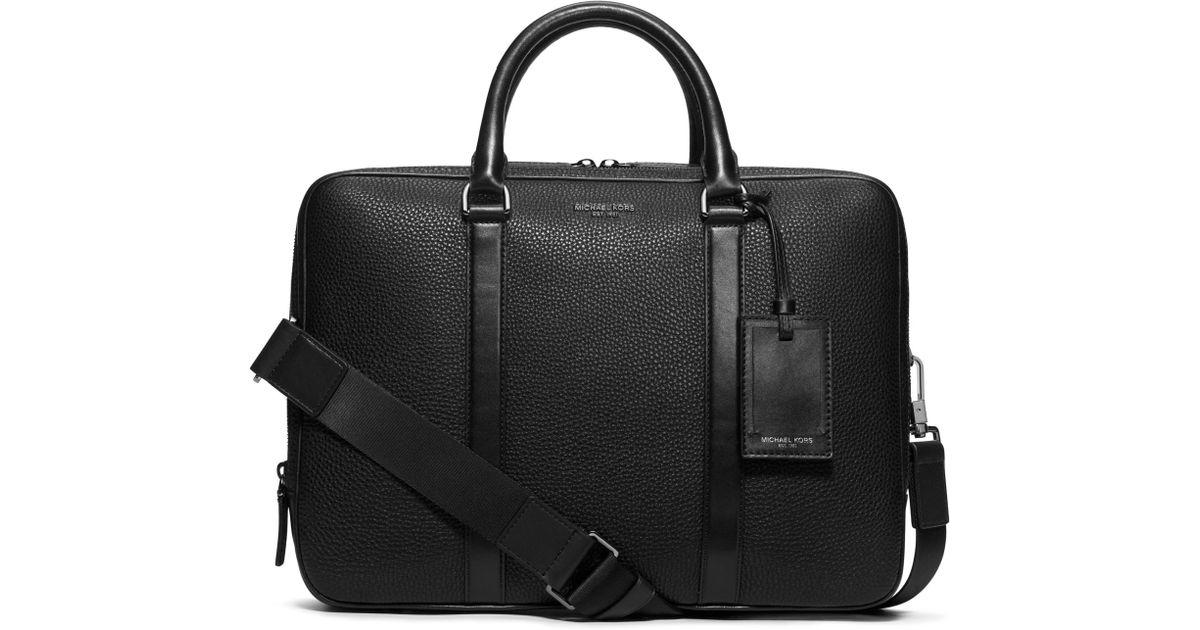 Lyst - Michael Kors Bryant Large Leather
