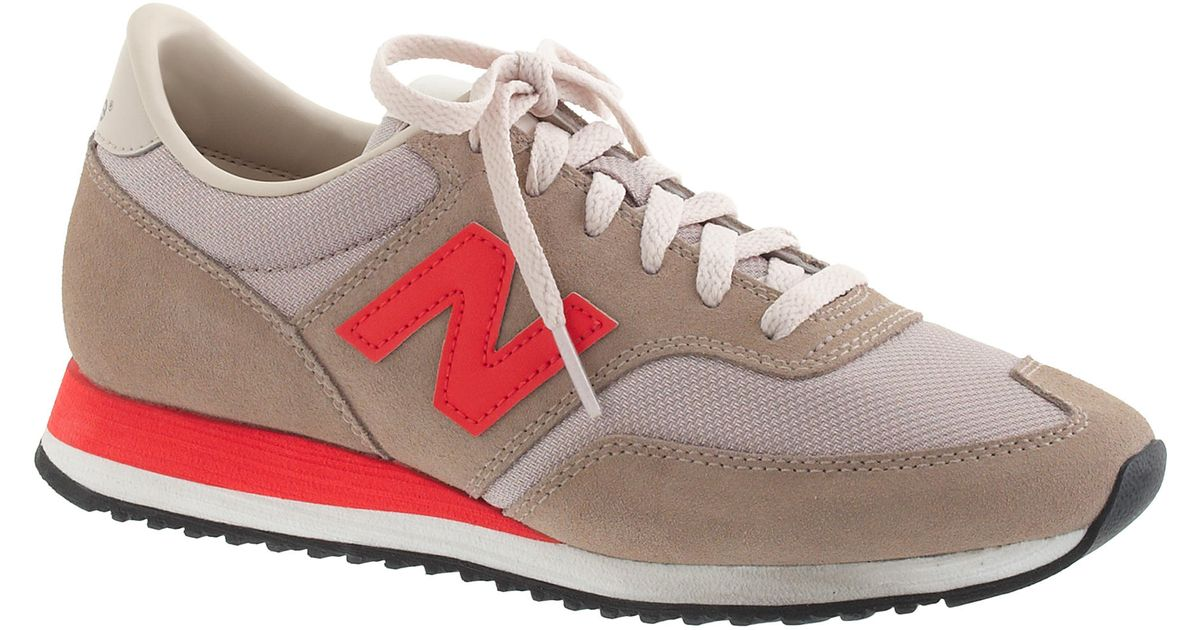 half off baa87 02d60 ... canada lyst j.crew womens new balance 620 sneakers in natural 1992c  7c04e