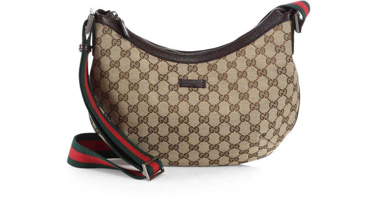 ddbc0dd2d11 Gucci Original Gg Canvas Messenger Bag in Brown - Lyst