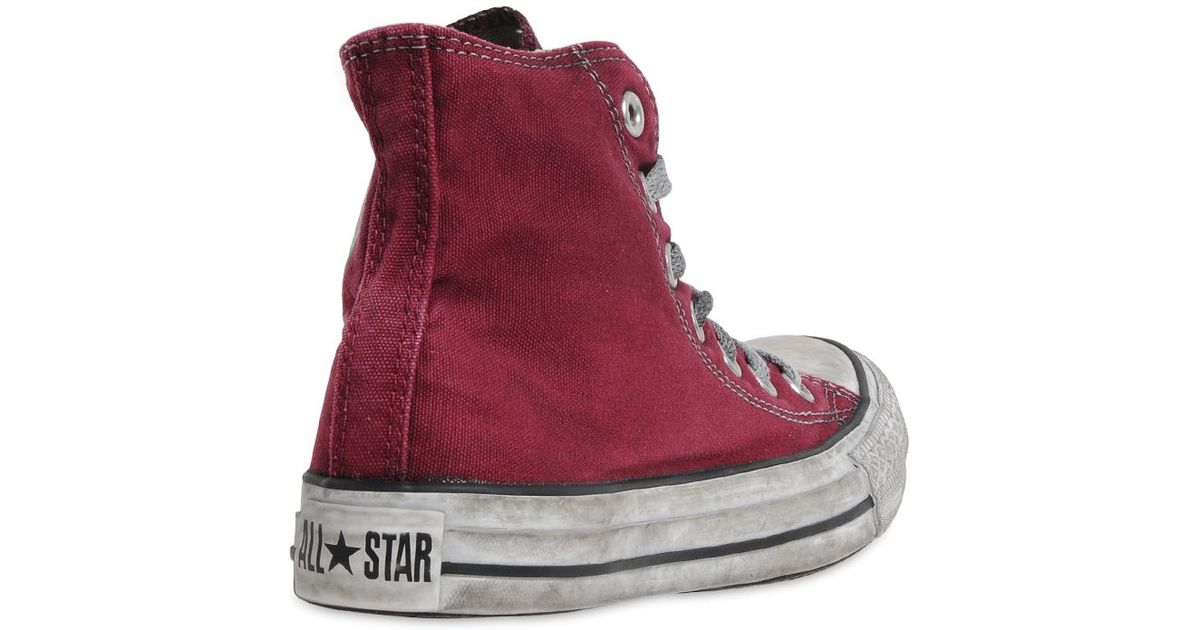 f2051e50c04b Converse Limited Edition All Stars Sneakers in Red for Men - Lyst