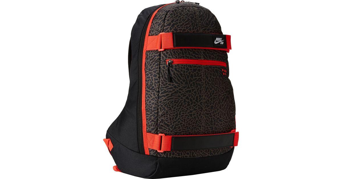 34196f12fba6 ... Lyst - Nike Embarca Medium Backpack in Black for Men ...