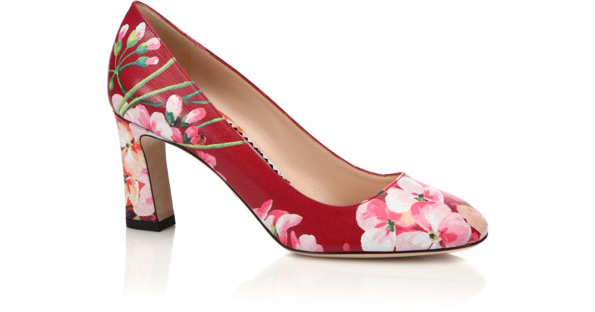 3466744e08f0 jimmy choo lace pumps red florals - Ecosia